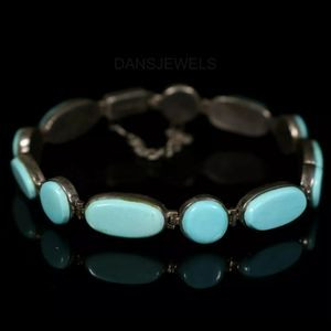 Sleeping Beauty Turquoise Sterling SilverBracelet